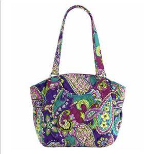 Vera Bradley Glenna Cool Paisley Print Bag